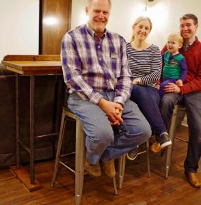 Rustic Barn Oak Sofa Table