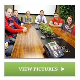 Custom Conference Table Designed by Chagrin Valley Custom Furniture of Cleveland, Ohio