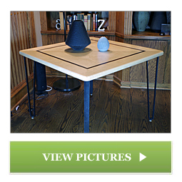Custom Game Table Designed by Chagrin Valley Custom Furniture