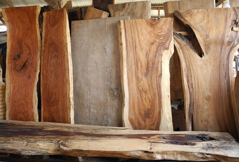 Buy A Live Edge Wood Slab For Your Furniture Project From Chagrin Valley Custom Furniture