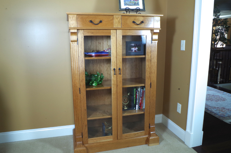Custom Made Free Standing Display Cabinets For Sale Online [With Locks]