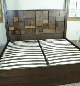 Canopy Bed Made from Mahogany