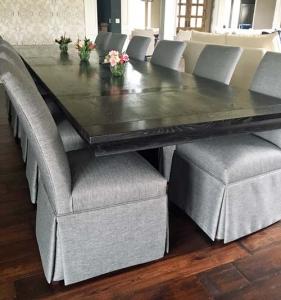 Rustic Oak Dining Table from Barn Beams