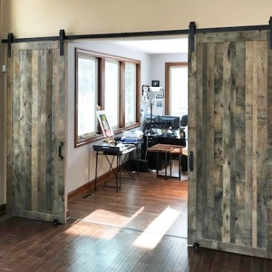 Barn Doors for Marilyn and Stan