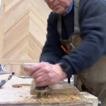 CVCF Woodworker Ed Johnson Using His Hands To Make Handmade Custom Furniture In The USA