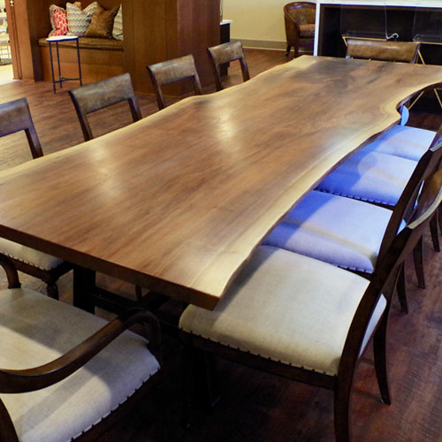 Live Edge Walnut Conference Table for Westin, Inc.