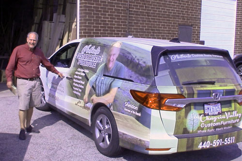 CVCF's Delivery Car