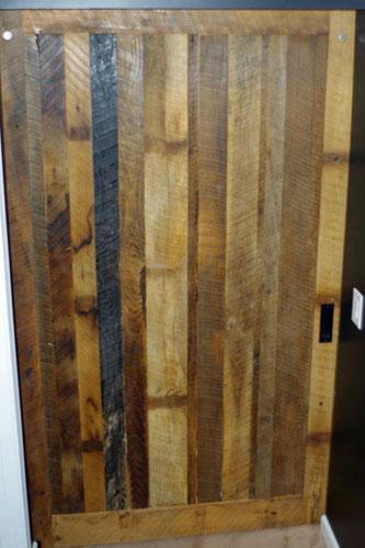 Custom Authentic Barn Siding Barn Door