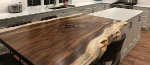 Custom Made Live Edge Kitchen Table Sold Locally In 2019