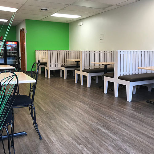 Booth and Tables for Grazers in Kent, OH