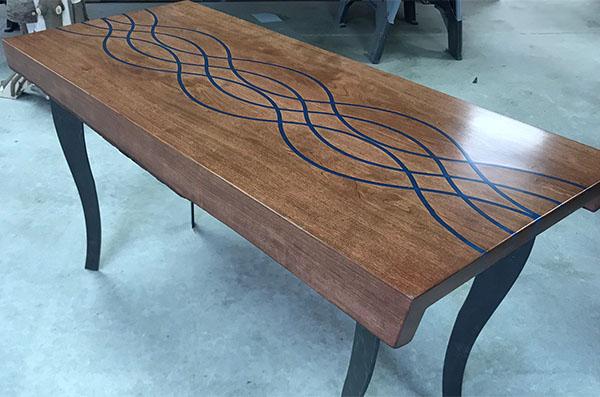 Modern Resin Coffee Table