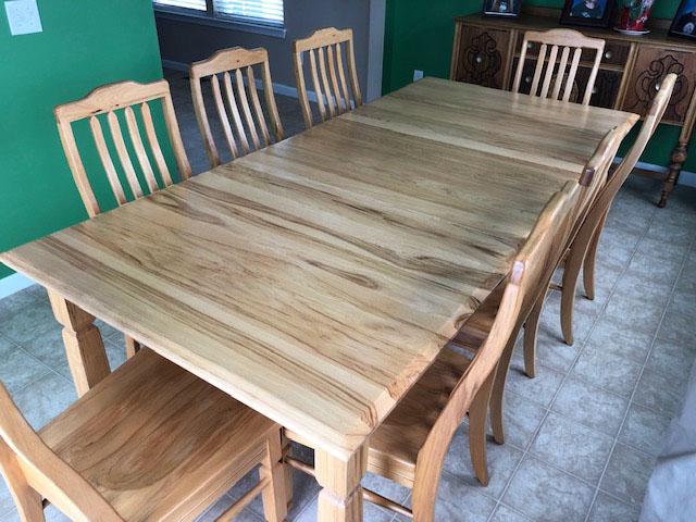 Table Refinishing For Erin And Steve