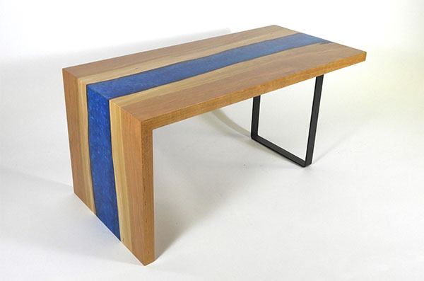Waterfall Table By Chagrin Valley Custom Furniture