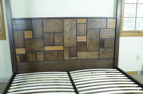 Mahogany Bed And Headboard