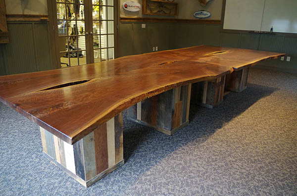 Live Edge Conference Room Table