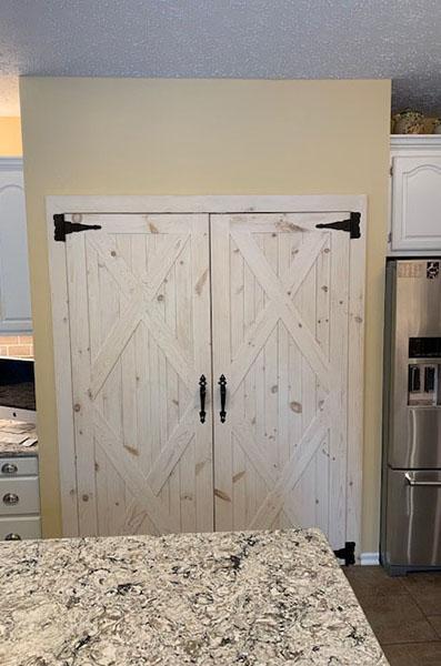 Rustic Pantry Doors