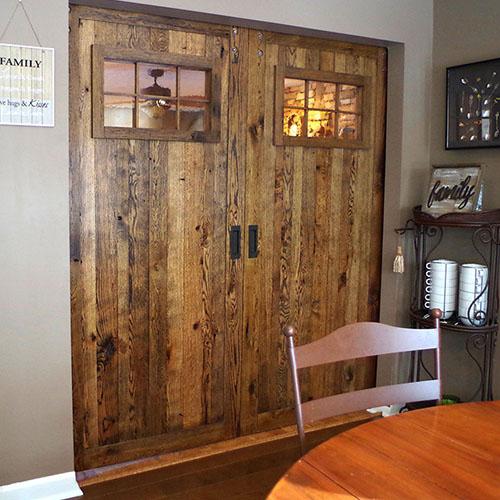 Rustic Sliding Barn Doors