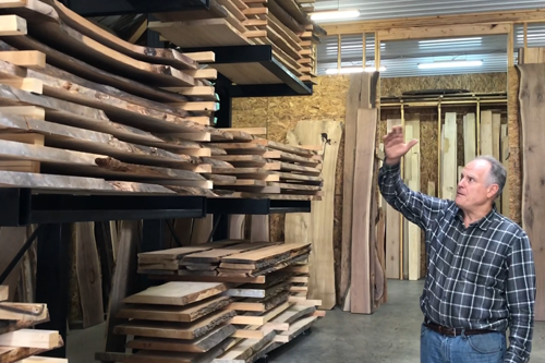 Learn How To Pick Out The Best Live Edge Wood For Your Dining Table From Chagrin Valley Custom Furniture