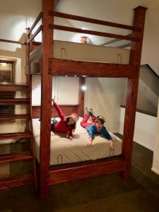 Queen Ergonomic Bunk Beds Built By CVCF