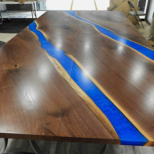 Custom Epoxy Resin Furniture