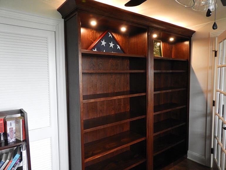 Mahogany Shelf System