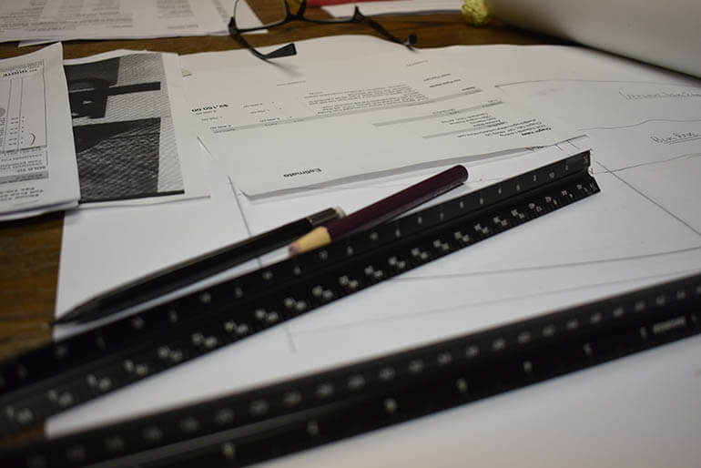 Rulers For Designing, Drawing And Drafting Furniture