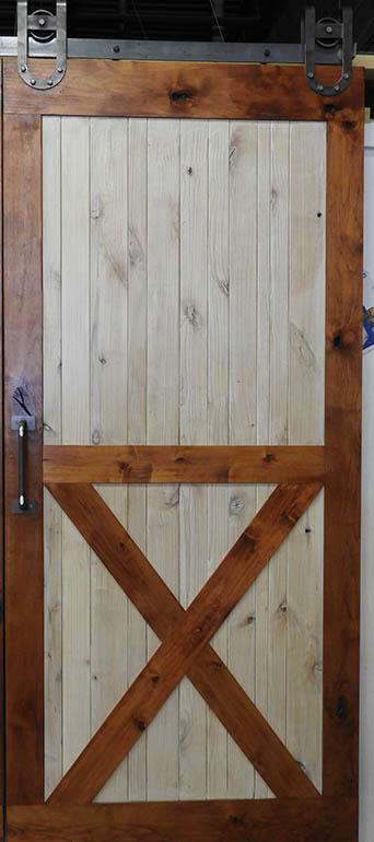 Knotty Alder Barn Doors