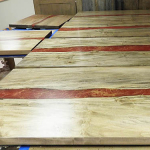 Red River Tables For Dragon Tiger Noodle Company
