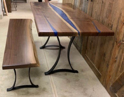 River Table Walnut Jackie Young
