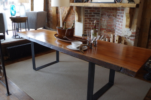 Buy A Live Edge Dining Table That Seats 8 People Online At Chagrin Valley Custom Furniture