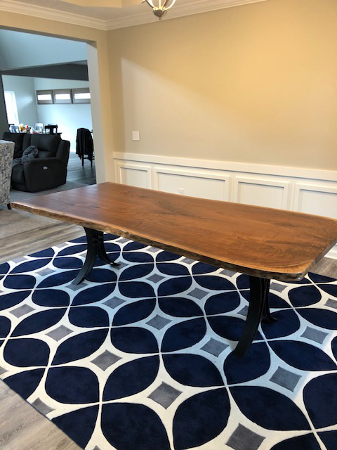 Live Edge Table Walnut For Chere And Dave