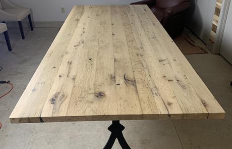 Rustic Harvest Farmhouse Table For Jane