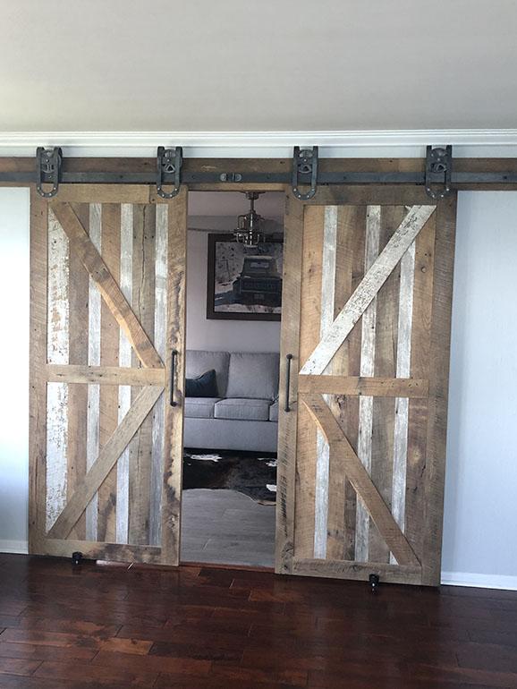 Rustic Interior Barn Door