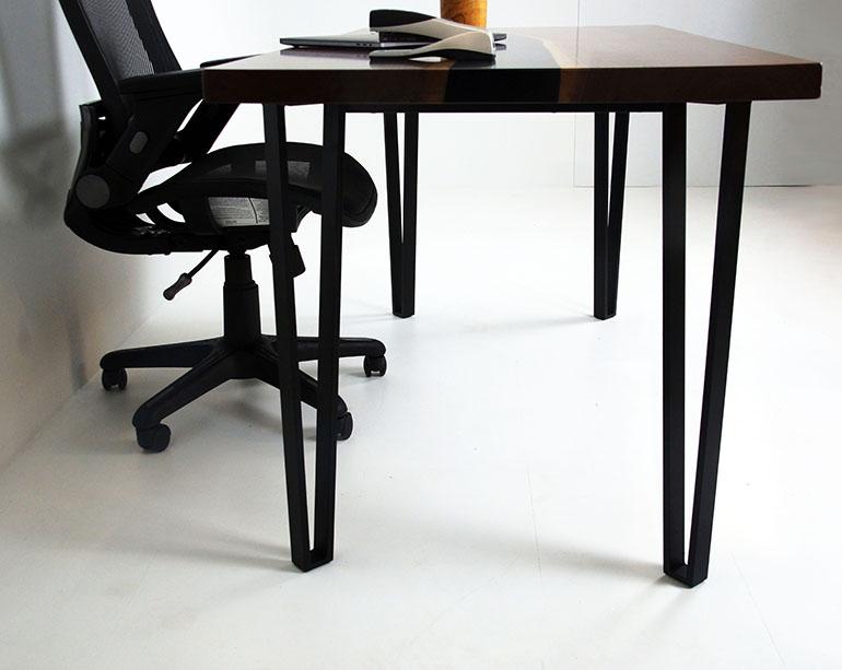 Black Walnut Coffee River Desk