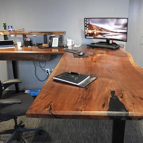 Buy A Custom Epoxy Resin Computer Desk