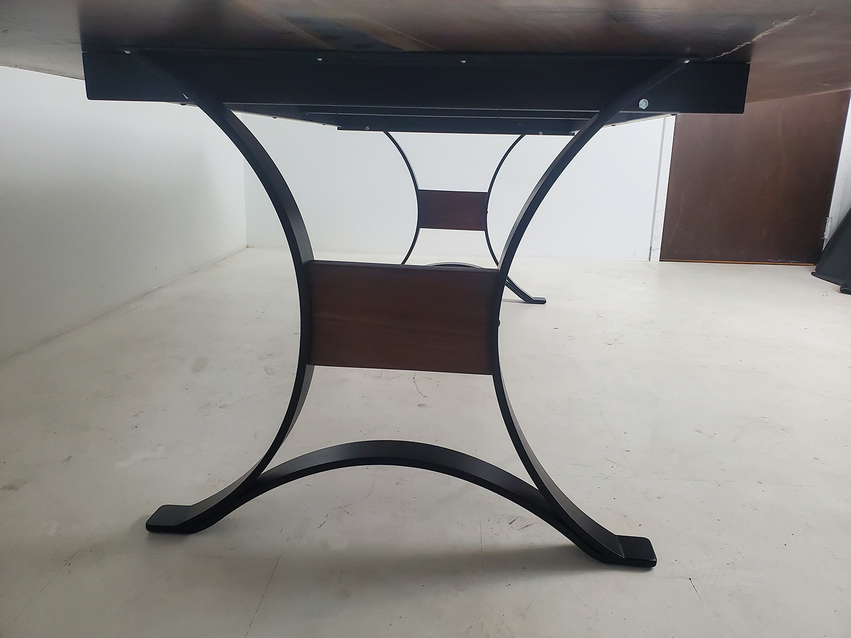 Large Black Walnut Dining Room Table Sold Online $6,500+ Black Epoxy River
