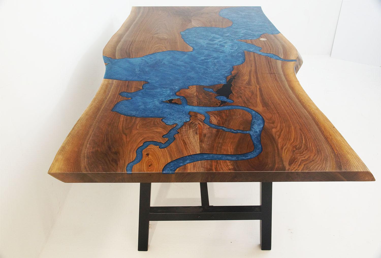 Chesapeake Bay CNC River Table