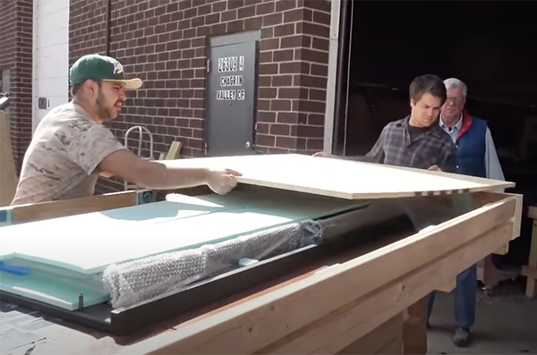 Crating An Epoxy Resin River Table