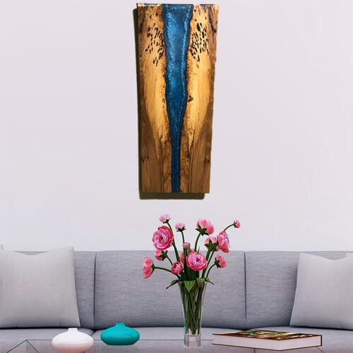Epoxy Resin Wall Art For Sale At CVCF River Table Online Store