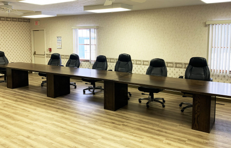 Stained White Oak 24 Foot Conference Table