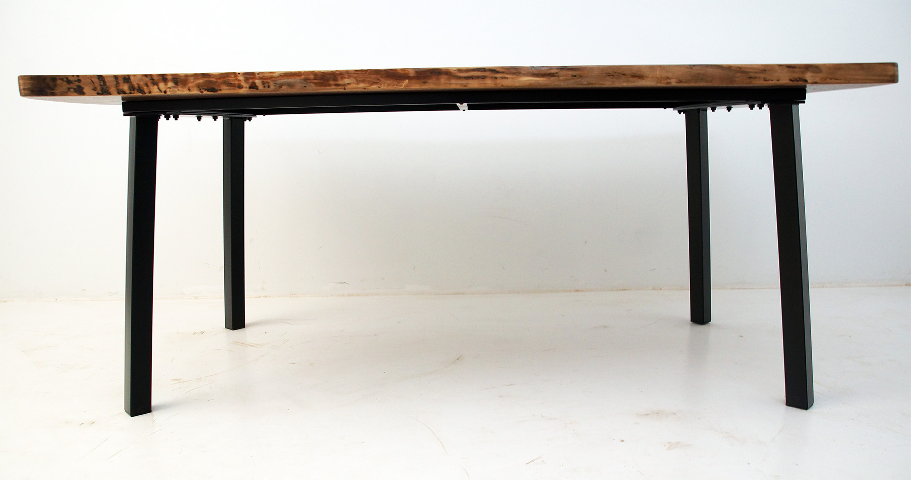 Live Edge Blue River Dining Table